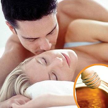 Postres eróticos con miel